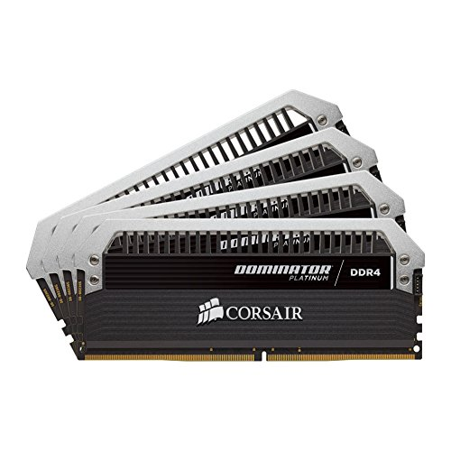 Cheapest Corsair CMD16GX4M4B3000C15 Dominator Platinum DDR4 16 GB (4 x 4 GB ) 3000 MHz C15 XMP 2.0 Enthusiast Desktop Memory Kit Discount