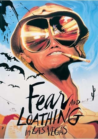 Laminiert Fear & Loathing in Las Vegas Johnny Depp Maxi Poster 61 x 91,5 cm