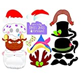 Househome 17PCS / Pack-bunte Stützen Auf Einem Schnurrbart-Stock, Passfotoautomat-Partei, Spaß-Hochzeits-Bevorzugung, Weihnachtsgeburtstags-Bevorzugung