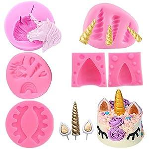 Moldes de unicornio mini molde