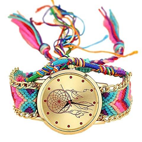 Geneva Montre pour femme avec bracelet en