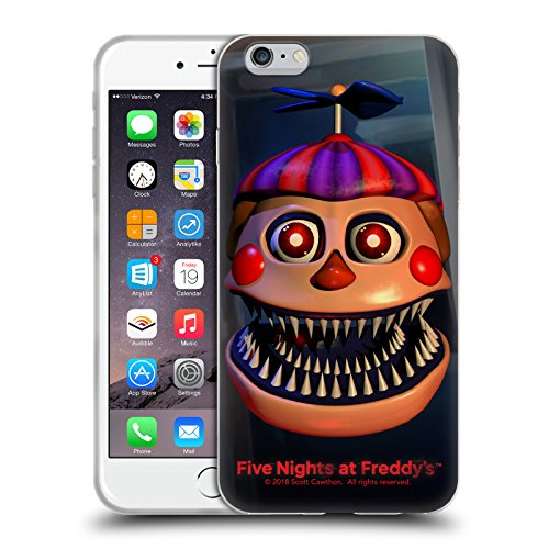 Official Five Nights At Freddy's Nightmare Balloon Boy Game 4 Soft Gel Case for iPhone 6 Plus / iPhone 6s Plus