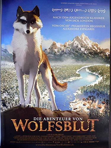 Die Abenteuer von Wolfsblut - Nick Offerman - Filmposter A1 84x60cm gerollt