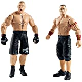 WWE Summer Slam John Cena and Brock Lesnar Figure by Mattel