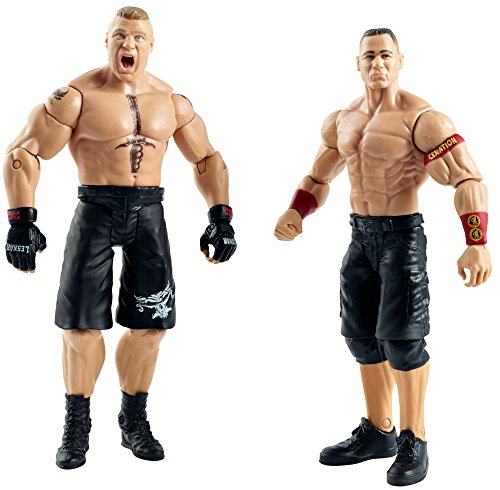 Figur WWE John Cena vs. Brock Lesnar Battle Pack Serie -