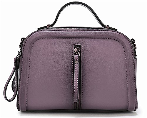 Sacs à main pour femme Xinmaoyuan Fashion sac à main en cuir de couleur épaule unique pulvérisation Paquet diagonale Sac pour femme en cuir Purple