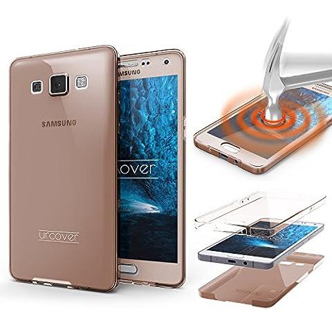 Samsung Galaxy A5 (2015) Handyhülle von Original Urcover® in der TPU Ultra Slim 360 Grad Edition Galaxy A5 (2015) Schutzhülle Case Cover Etui Rosa [DEUTSCHER FACHHANDEL]