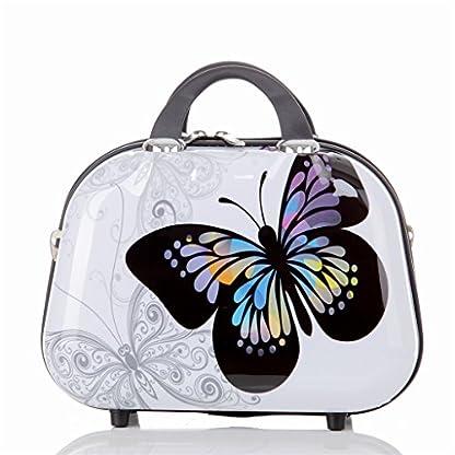 Maleta de viaje 2060,rígida, en 12 motivos, XL, L, M Butterfly L+S(Beautycase)