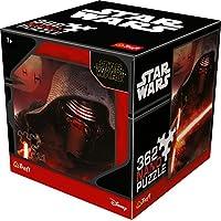 Nano di puzzle con motivo a Star Wars Personaggio Kylo Ren, triangolare puzze con 362parti, adatto per bambini dai 7anni