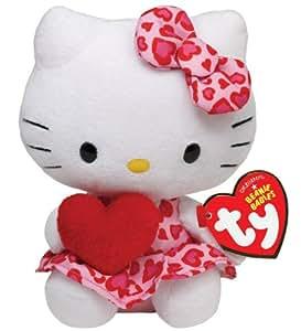 TY Beanie Babies Hello Kitty Heart Valentines
