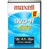 Maxell Mxl-dvd-r/5V Jeux. DVD-R avec Bibliothèque Coque