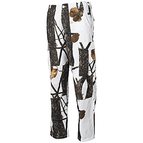 MFH BDU Combat Trousers Ripstop Hunter Snow size 3XL