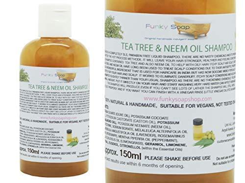 ee Baum & Neemöl Shampoo 100% Natur SLS Frei 150ml ()