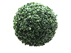Fourwalls Artificial Topiary (27cm, Green)