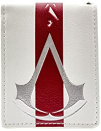 Cartera de Ubisoft Assassins Creed Raya roja Blanco