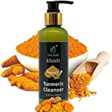 The EnQ Khadi Turmeric Miracle Cleanser 200 Ml || Goodness of Extract || Effectively Eliminating Acne , Blemishes , Dark Spots and Hyper Pigmentation