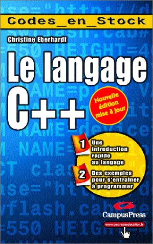 Langage C++ par Christine Eberhardt
