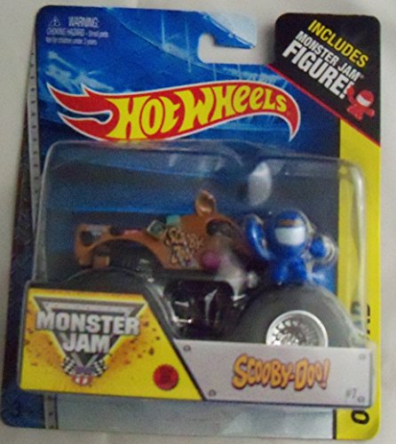Scooby Doo Monster Jam Off Road Truck By Hot Wheels 1:64 by Hot Wheels