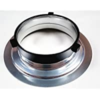 Rocwing - Converting Mount Ring Adapter for Flash Beauty Dish Softbox and Studio Lamp Shade (Bowens 152mm Adapter)