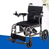 Elektro-Rollstuhl, Bequemer Elektro-Stehrollstuhl Mit Elektromagneten Bremse, Elektrorollstuhl Stand Up (Schwarz)