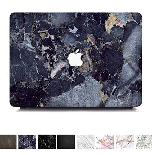Koru Premium Vinyl Aufkleber Skin Cover für MacBook   Schutz, Kratzfest und Keine Fingerabdrücke Rückstände Gratis Vinyl Haut Aufkleber Schutzhülle Royal Blue Marble Pro 15