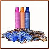 I0018 kit 150 borbone 150 bustine zucchero 150 palette 150 bicchierini colorati caffe immagine
