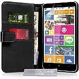 Yousave Accessories NO-KA02-Z308 Etui en cuir pour Nokia Lumia 1320 Noir