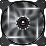 Corsair SP140 LED Ventilador de PC (140 mm, iluminación LED Blanco) Paquete Doble