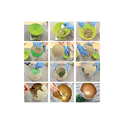 Viva Decor Beton für Kreative, 1,5kg, Synthetic Material, grau, 13.2 x 13.2 x 13.1 cm