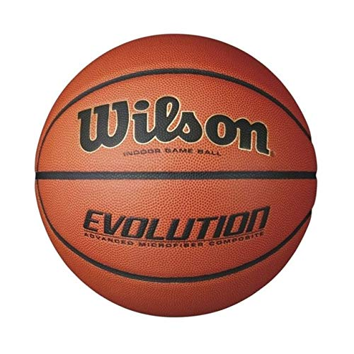 WILSON Unisex-Adult Evolution BSKT EMEA Basketball, Braun, 7