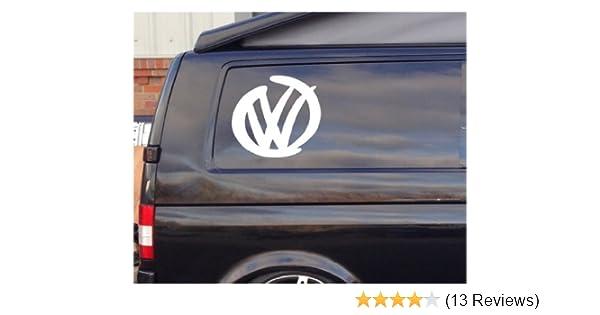 Car Van Window JDM VW Skate Vinyl surf t4 t5 2x Rip Curl logo Sticker Decal