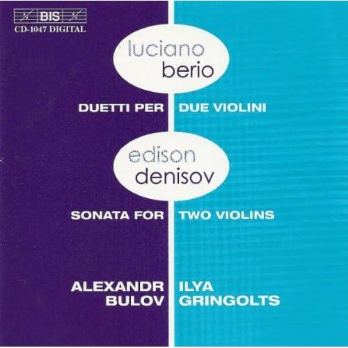 34 Duets for 2 violins: III. Yossi (Pecker)