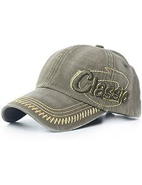 BAITER Nuevo hombres gorras ajustables de béisbol Ancient Ways bordado tridimensional Mujer sombrero con protección...