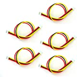 LaDicha 5 Pcs 150mm/15cm Jst-Zh 1.5mm 3P 3 Pin Av Cable For FPV Camera Transmitter Racer