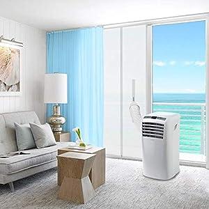 HOOMEE Cubierta Aislante De Tela de 90×210 CM para Puertas con Salida de Aire Acondicionado Portátil y Secadoras. Fácil…