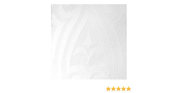Duni Elegance Lily Napkins White 48cm Pack of 40 Professional Quality Napkins