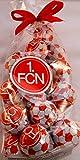 1. FC Nürnberg Schokokugeln FCN Schokofussbälle Schoko Fussbälle FCN Chocolate