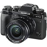 Fujifilm - Kit X-T2 + XF 18 - 55 mm Appareil Photo - 24Mpix - Noir