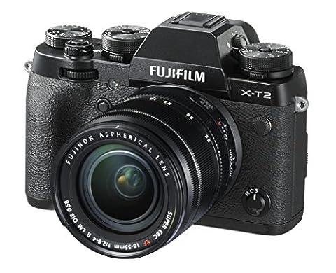 Fuji X-T2 Kit with XF18-55 mm Lens - Black