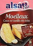 Alsa Préparation pour Moelleux Coco Vanille 490 g