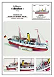HMV 3308 Kartonmodell Peildampfer Schaarhörn