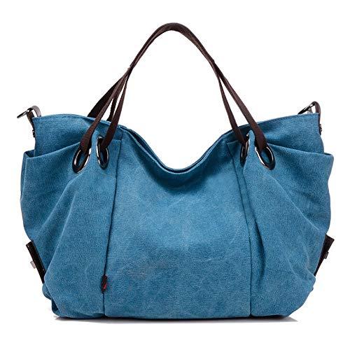 Produp 2019 Hot Fashion Casual Leinwand Umhängetasche Frauen Geldbörse Einkaufstasche Griff Große Crossbody Handtasche (Marvel-leinwand-tasche)