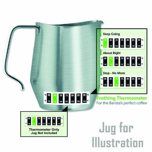 Milchschaum-Thermometer für Baristas, für den perfekten Cappuccino und Kaffee
