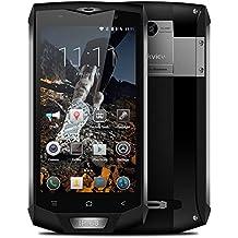 "Blackview BV8000 Pro Smartphone IP68 Impermeable 4G LTE a Prueba de Choques Polvo (Android 7.0, Pantalla 5.0"", MTK6757V Octa-core, 6GB+64GB, Cámara 13MP, Dual SIM, 4180mAh Batería, Huella Dactilar)"