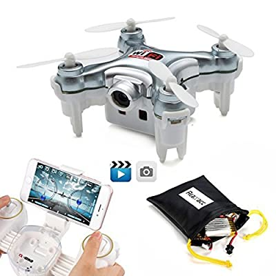 REALACC CX-10WD-TX Mini Wifi FPV Quadcopter Drone With HD Camera Altitude Hold 2.4G 4CH 6Axis Remote Control Nano RC Quadcopter Drone RTF