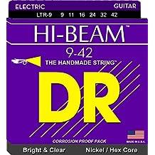DR Strings HI-BEAM 9-42 Jeu de Cordes pour Guitare Electrique