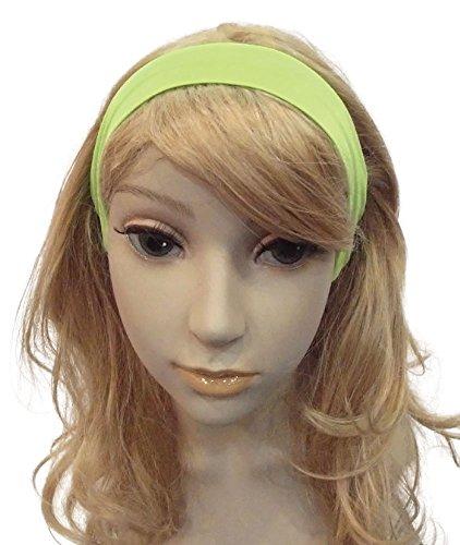 Neon 80s Hairband. Green Accessory Fancy ()