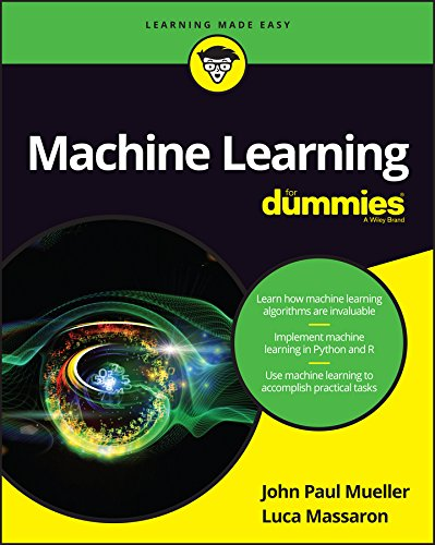 Machine Learning For Dummies (English Edition) - Python-stoff