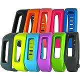 hopcentury Sangle de bracelet Fitbit One poignet bande de bracelet Accessoire avec Fermeture Fermoir en métal pour Fitbit One Tracker d'activité