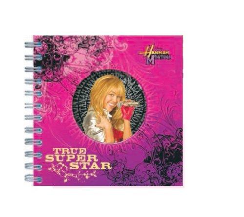 Preisvergleich Produktbild Hannah Montana Tagebuch mit Spiralbindung